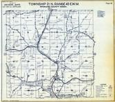 Township 21 N., Range 43 E., Plaza, North Pine, Spokane County 1950