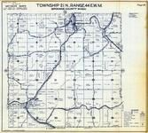 Township 21 N., Range 44 E., Clifton, Dale, Spring Valley, Jefferson, Spokane County 1950