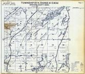 Township 22 N., Range 41 E., Turnbull National Wildlife Refuge, Badger Lake, Spokane County 1950