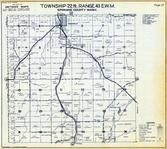 Township 22 N., Range 43 E., Spangle, Cospur, Freedom, Spokane County 1950