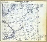 Township 23 N., Range 42 E., Turnbull National Wildlife Refuge, Kepple Lake, Dynamite, Spokane County 1950