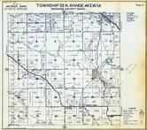 Township 23 N., Range 44 E., Mount Hope, Ochlare, Ingersol, Freeman, Spokane County 1950