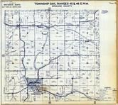 Township 23 N., Range 45 and 46 E., Rockford, Saxby, Manito Bell, Lockwood, Spokane County 1950