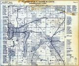 Township 24 N., Range 41 E., Medical Lake, Four Lakes, Lakewood, Fairchild Air Force Base, Spokane County 1950