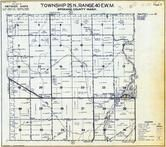 Township 25 N., Range 40 E., Deep Creek, Spokane County 1950