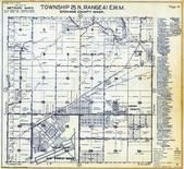 Township 25 N., Range 41 E., Fairchild Air Force Base, Lyons, Spokane County 1950