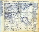 Township 25 N., Range 45 and 46 E., Liberty Lake, Flora, Greenacres, Spokane County 1950