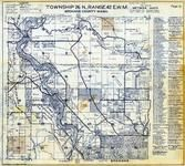 Township 26 N., Range 42 E., Seven Mile, Riverside State Park, Little Spokane River, Spokane County 1950