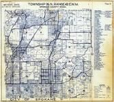 Township 26 N., Range 43 E., Spokane, Hillyard, Dartford, Spokane County 1950