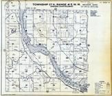 Township 27 N., Range 41 E., Long Lake Reservoir, Four Mound Prairie, Spokane County 1950