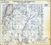 Township 27 N., Range 45 and 46 E., Newman Lake, Mount Spokane State Park, Spokane County 1950