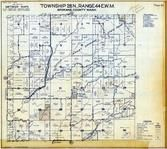 Township 28 N., Range 44 E., Mount Spokane State Park, Cottonwood Creek, Spokane County 1950