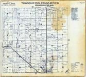Township 29 N., Range 42 E., T Bridge Corner, Clayton, Deer Park, Spokane County 1950