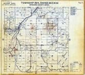 Township 29 N., Range 44 E., Little Spokane River, Elk, Spokane County 1950