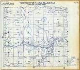 Township 29 N., Range 45 and 46 E., Mount Spokane State Park, Blanchard Valley, Spokane County 1950