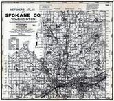 Title Page, Index Map 1, Spokane County 1984