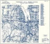Township 18 N., Range 2 W., tumwater, Capitol Lake, Budd Inlet, Priest Point, Thurston County 1973