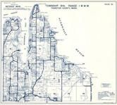 Township 19 N., Range 1 W., Nisqually Reach, Puget, South Bay, Henderson Inlet, Dana Passage, Thurston County 1973