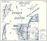 Township 19 N., Range 2 W., Puget Sound, Boston Harbor, Dover Point, Dafflemeyer Point, Thurston County 1973