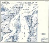 Township 19 N., Range 2 W., Puget Sound, Budd Inlet, Eld Inlet, Boston Harbor, Squaxin Passage, Thurston County 1973