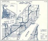 Township 19 N., Range 2 W., Sanderson, Totten Inlet, Oyster Bay, Gallagher Cove, Squaxin Passage, Thurston County 1973