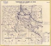 Township 15 N., Range 4 E., Snoqualmie National Forest, Lake Alder, Mona Creek, Thurston County 1977c