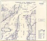 Township 19 N., Range 2 W., Puget Sound, Budd Inlet, Eld Inlet, Mud Bay, Totten, Oyster Bay, Thurston County 1977c