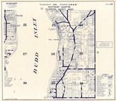 Township 19 N., Range 2 W., budd Inlet, Silver Spit, Big Tykle Cove, Hanna Place, Gull Harbor, Thurston County 1977c