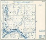 Township 40 N., Range 6 W., Maple Falls, Silver Lake, Nooksack River, Boulder Creek, Bald Lake, Whatcom County 1971