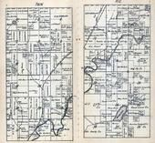 Township 41 North - Range 1 East, Flambeau River, Hoffman Lake, Ashland County 1917
