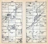 Township 44 North - Range 4 West, Mineral Lake, Brunsweiler River, Ashland County 1917