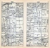Township 46 North - Range 4 West, Marengo, Agnew, Sanborn, Ashland County 1917