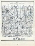 Dodge County Map, Dodge County 1955c