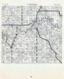 Theresa Township, Dodge County 1955c