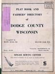 Title Page, Dodge County 1955c