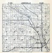 Janesville Township, Rock County 1947