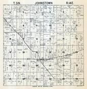 Johnstown Township, Johnstown Center, Rock County 1947