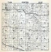Porter Township, Stebbinsville, Cooksville, Rock County 1947