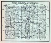 Rock County Map, Rock County 1947