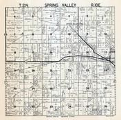 Spring Valley Township, Orfordville, Brodhead, Rock County 1947