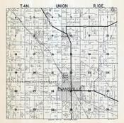 Union Township, Evansville, Rock County 1947