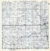 Aurora and Ford Townships, Gilman, Polley, Taylor County 1957