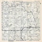 Goodrich Township, Taylor County 1957