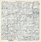 McKinley Township, Jump River, Taylor County 1957