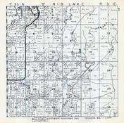 Rib Lake Township, Taylor County 1957