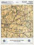 East Troy Township, Walworth County 1955c