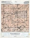 Lyons Township, Springfield, Lyonsdale, Walworth County 1955c