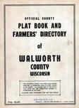 Title Page, Walworth County 1955c