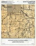 Whitewater Township, Walworth County 1955c