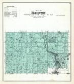Barton Township, Young America, West Bend, Washington and Ozaukee Counties 1892 Published by C.M. Foote & Co